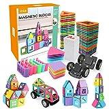 LBLA Blocs de Construction Magnétiques, 85 Pièces Ont placé des Kits d'empilage de...
