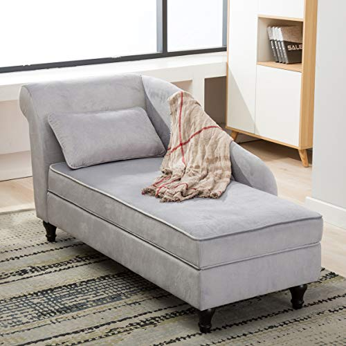 Storage Chaise Lounge Indoor Recliner