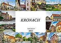 Kronach Impressionen (Tischkalender 2022 DIN A5 quer): Die Stadt Kronach festgehalten auf zwoelf wunderschoenen Bildern (Monatskalender, 14 Seiten )