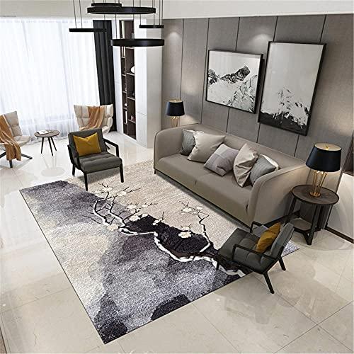 IRCATH Modello di Moda Symmetrical Symmetrical Grey Brown per Mantenere Il Calore e Confortevole Sala Studio tavolino tavolino Decorazione della Decorazione del corridoio-40x60 cm. per la Decorazione