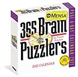Mensa 365 Brain Puzzlers Page-A-Day Calendar 2022: A brain busting year of tough pangrams, word ladders, logic challenges, number sequences, and more.