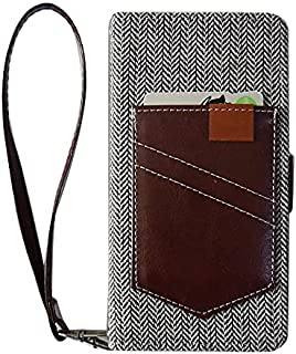 SHARP シャープ AQUOS ZETA SH-01H docomo/AQUOS Xx2 502SH [ピカデリー][鏡無し] 内面 茶色 ブラウン 磁石 スタンド カードポケット スマホケース 携帯 カバー スマホ ケース ミラー カメラ穴...