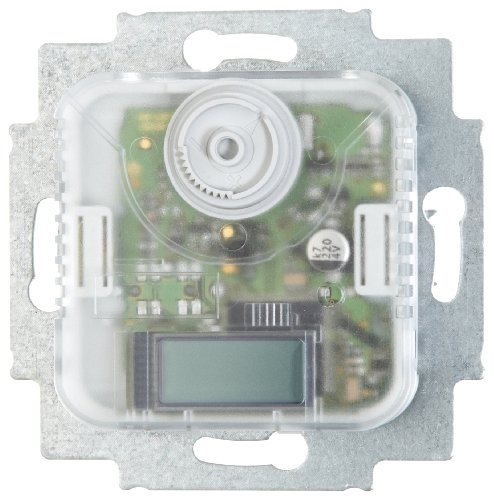 Busch-Jaeger 1097UTA - Termostato electrónico con contacto alterno