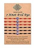Tarsus Nazar Amulet Mal De Ojo Bracelet Bad Eye Protection for Women Men Teen Boys