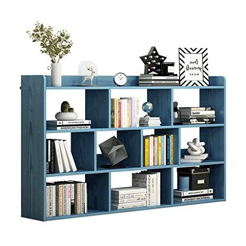 WUHE Librerie Librerie e mensole di Libro delle 5 File, in Piedi Magazzinaggio unità, Multifunzionale Aperto Librerie, Storage Display Scaffali Scaffale (Color : 120cm)