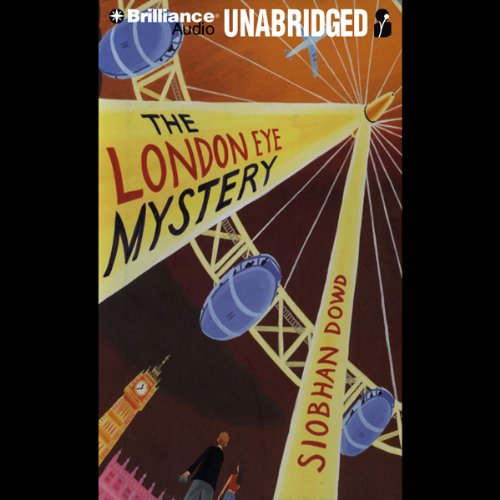 The London Eye Mystery audiobook cover art