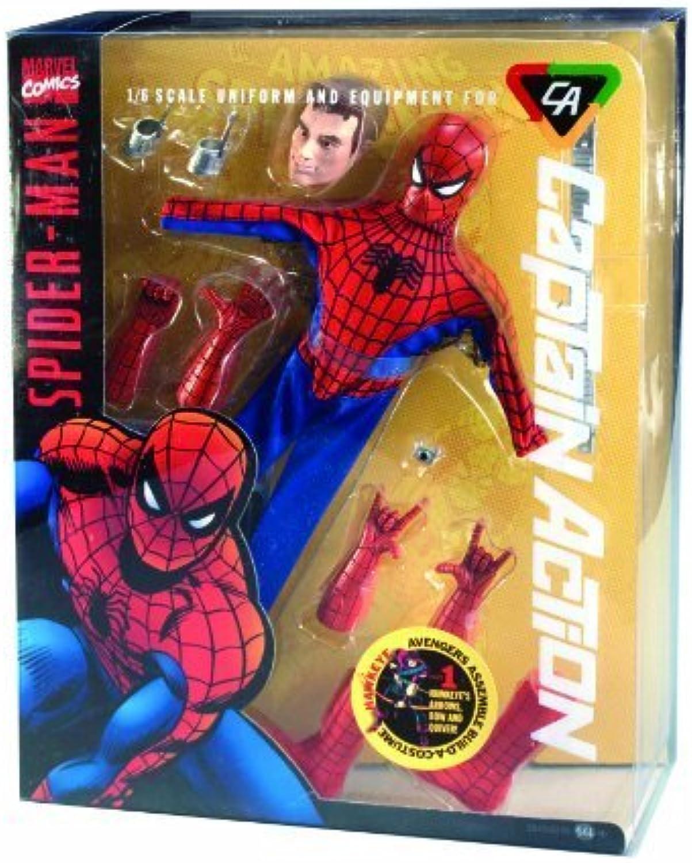 envio rapido a ti Round 2 Captain Acción Deluxe Spider-Man Costume Set by by by Round 2  tienda de venta