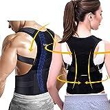 Correttore posturale Fit_Ros - Uomo e Donna - Fascia posturale schiena e spalle - Supporto...
