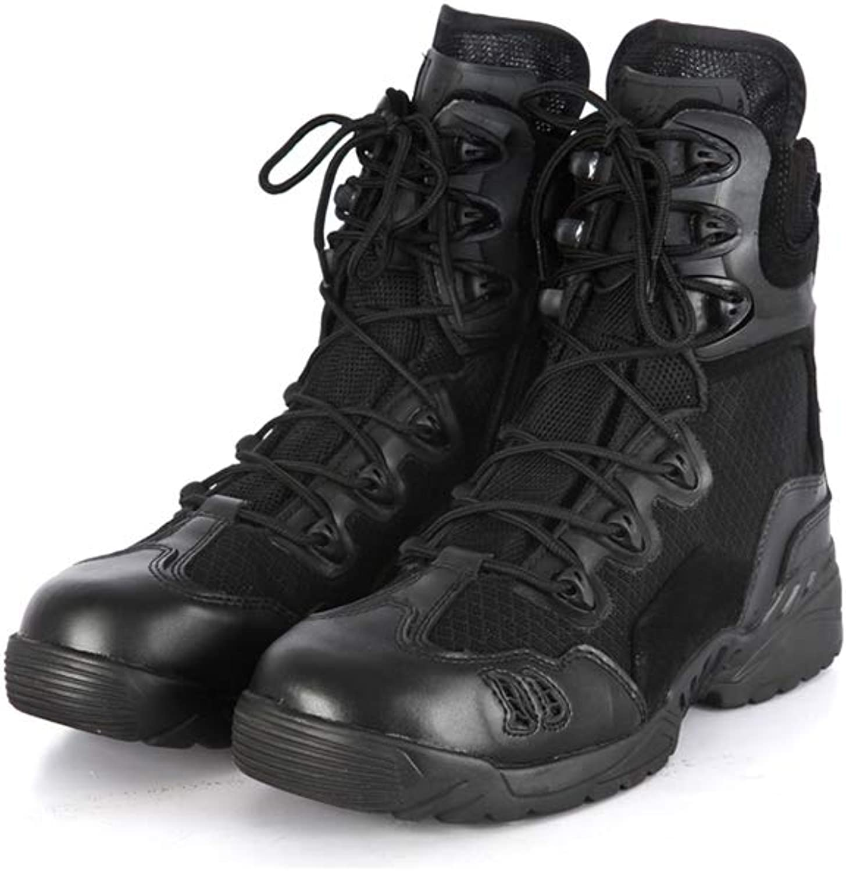 QIKAI Desert Combat Boots Summer ultra light tactical boots desert land boots hiking shoes