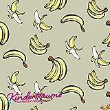 Jersey Stoffe Kinderträume Banane 1,00m x VB