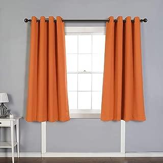 Best orange curtains for bedroom Reviews