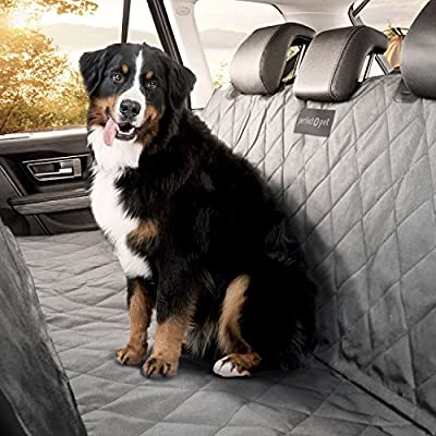 Perfect Pet® Seat Cover - Best Dog And Cat Car Seat Cover & Hammock - Machine Washable - Waterproof Non-Slip Quilted Blanket Protects Seats in Cars, Trucks, SUVs & Vans From Stains and Hair