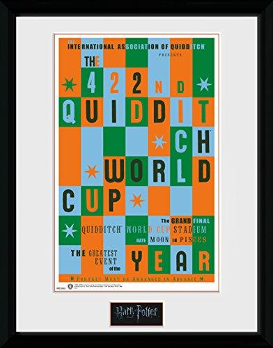 HARRY POTTER GB Eye Ltd, Quidditch World Cup, Foto incorniciata 30 x 40 cm