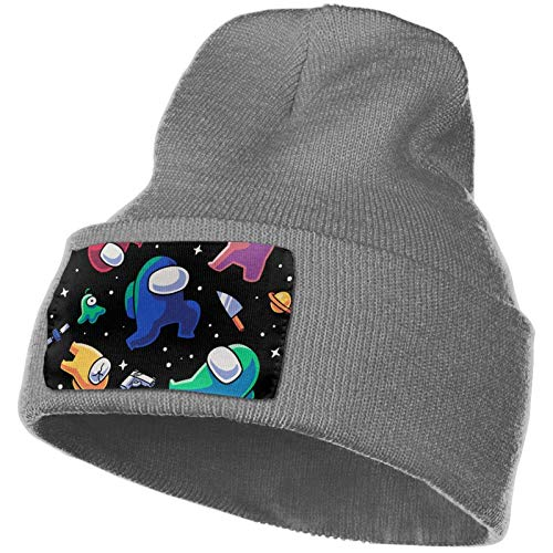 Jupsero Among Us Knitted Hat Beanie Hedging Hat Slouchy Warm Skull Cap para Hombres Mujeres