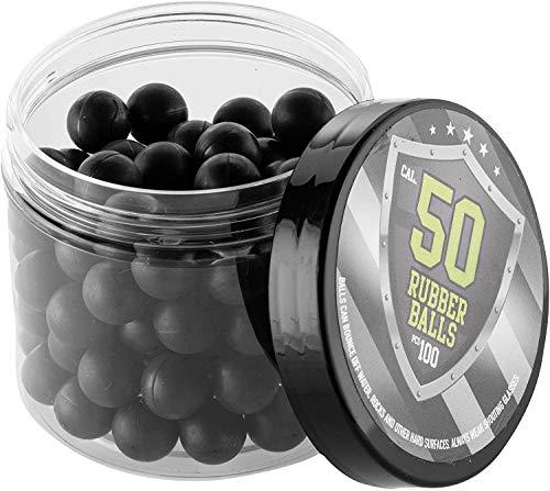 SSR 100 x Hard Rubber Balls Paintballs in 50 Cal. for HDR 50 T4E Marker RAM Shooting Training Self-Defense