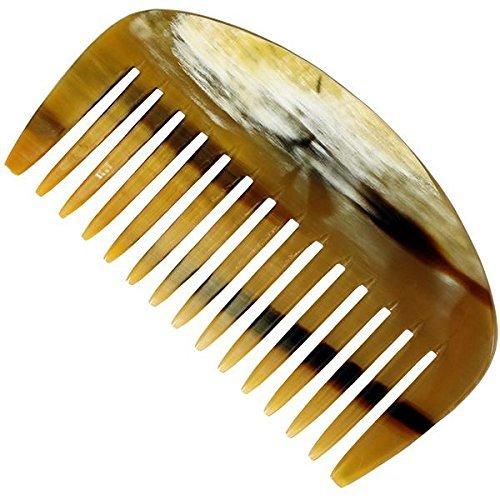 Golddachs Horn-Afrokamm 10 cm