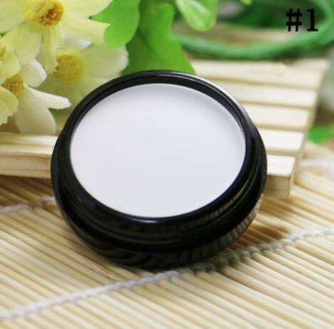 Bluelover Masque Maquillage Correcteur Natrual Pearl Crème Nue Fondation 7 Couleurs - #1