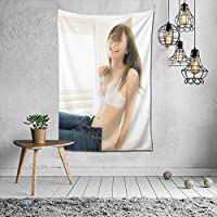 Shiraishi Mai Photo Collection, Tapestry, Interior, Modern Art, Stylish Wall Hanging, Large Size, Decorative Cloth, Wall Art, Fabric Poster, Fabric Decoration Supplies, Multi-functiol, Indoor, Window or Wall Decoration, Shops, Popular, Housewarming Celebration, Persolity Gift, 60. x 51.2 inches (152 x 130 cm)