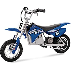 Electric Scooters Razor Dirt Rocket MX 350 Electric Bike, Blue [tag]