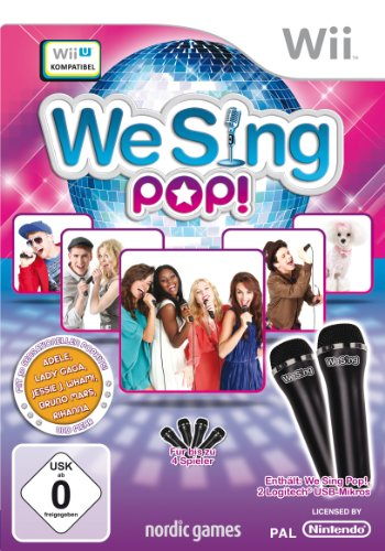 We Sing Pop! (inkl. 2 Mikrofone)