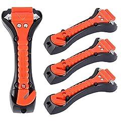 4 Stück Notfallhammer Sicherheitshammer Gurtschneider