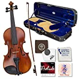 Louis Carpini G2 Violin Outfit 1/2 Size - Carrying Case and Accessories...