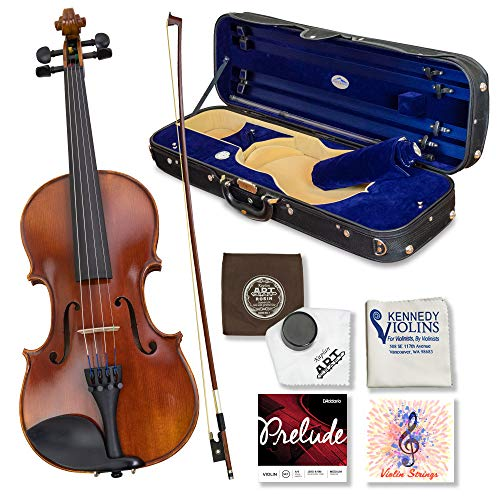 Louis Carpini G2 Violin Outfit 1/4 Size - Carrying Case and Accessories...