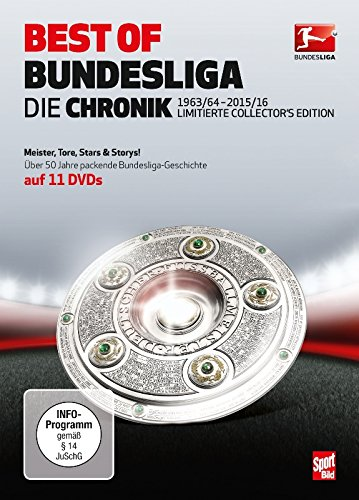 Best of Bundesliga - Die Chronik 1963-2016 (11 DVDs)