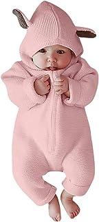 Monos Bebe,Recién Nacido bebé niña niño Historieta 3D Mameluco del oído Monos Ropa de Invierno cálido Bodies Monos Peleles Ropa Bebes
