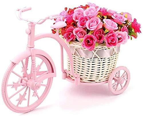 SLZFLSSHPK Macetero Alto Soporte Plantas Flor Estante de la Flor del Soporte de Flor Artificial Flor Mini Estante de Bicicletas Decoración Pequeña Planta Soporte for Matrimonio jardinería Shelf