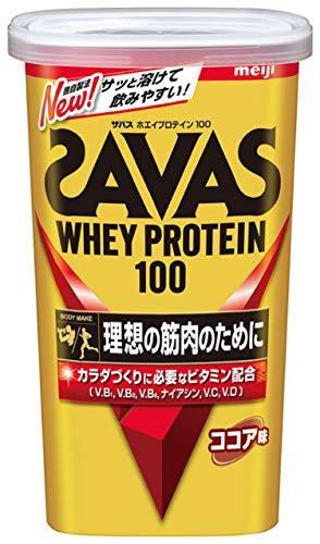 明治ザバス(SAVAS)ホエイプロテイン100ココア味【14食分】294g