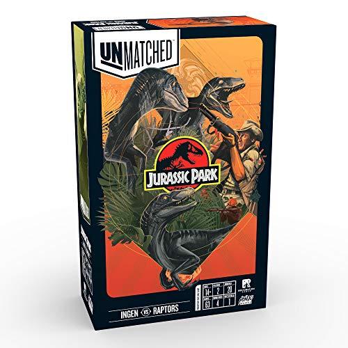 Unmatched Jurassic Park: Ingen Vs. Raptors