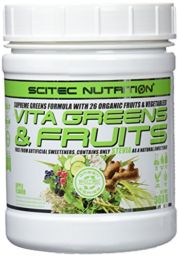 Scitec Nutrition Vita Greens & Fruit - Apfel-Geschmack 360g