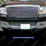 APS Compatible with 2004-2005 Ford F-150 Lower Bumper Billet Grille Insert F85351A