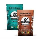 koawach Starkes Duo - 500g Klassik & 500g Pur - Bio Kakao mit Koffein aus Guarana