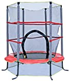AirZone 4-1/2 Foot Kids First Outdoor Band Trampoline with Mesh Padded...