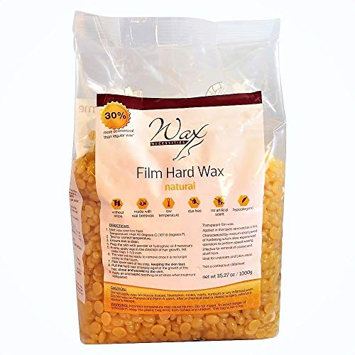 Wax Necessities Hard Wax Beads Natural 2.2 Pound