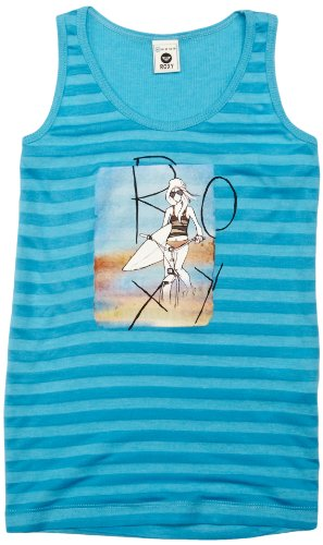 Roxy Screenline Fab T-Shirt pour Fille 152 cm Turquoise
