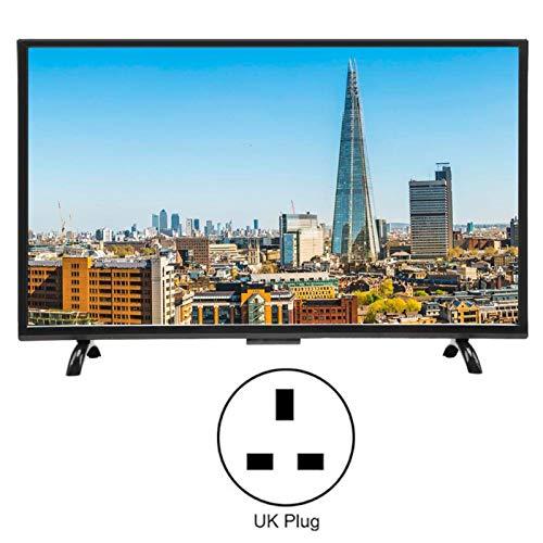 FOLOSAFENAR Versión de Red HDR 110V Smart TV Pantalla Curva Grande Smart TV 1920x1200 Inicio Empresa(British regulatory)