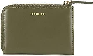 Zipper Mini Wallet Card Case Pocket Wallet leather Cow leather