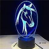 Farbwechsel Tier Nachtlicht Pferd Tischlampe Baby Kind Schlaf Nachtlicht
