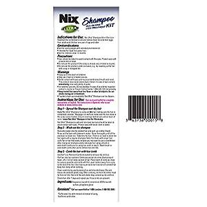 NIX Ultra Shampoo Lice Treatment   Kills Super lice & Eggs   Includes Lice Removal Comb   4 Fl. Oz