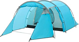 Qisan Deep DiscountOff Half Priced Large Dome Tent 3-4 Person Camping Tent Double Layer Opening Screened Front Waterproof Tent with Portable Pack 4 Season for Hiking Travel or Beach