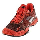 Babolat Men's Jet Mach II All Court Tennis Shoes, Orange.com/Black, 10.5 D(M) US
