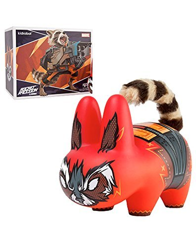 Kidrobot Guardians Of The Galaxy Rocket Raccoon Labbit Vinyl Figure