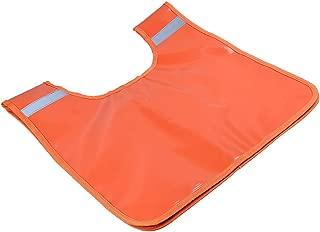 Orange Winch Recovery Rope Damper Dampener Blanket with Storage Pocket-Light