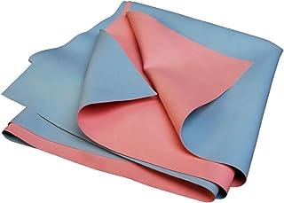 AARAM Ultrasoft Waterproof Dry Rubber Bed Sheet Cover/Toddler/Adult Sleeping Mattress Protector/Urine Non-Absorbent Reusab...