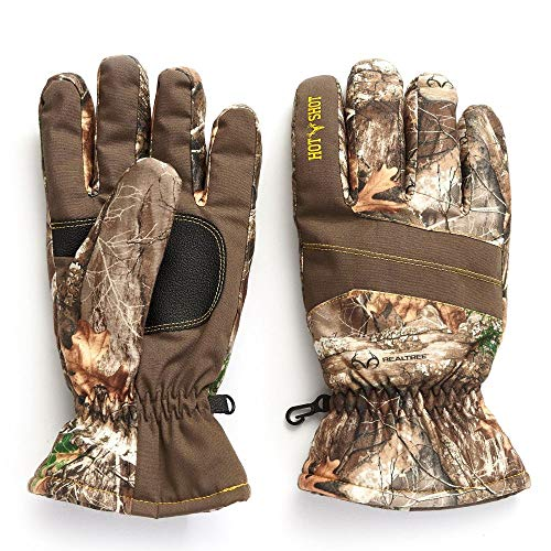 Hot Shot Men's Camo Defender Glove – Realtree Edge Outdoor Hunting Camouflage