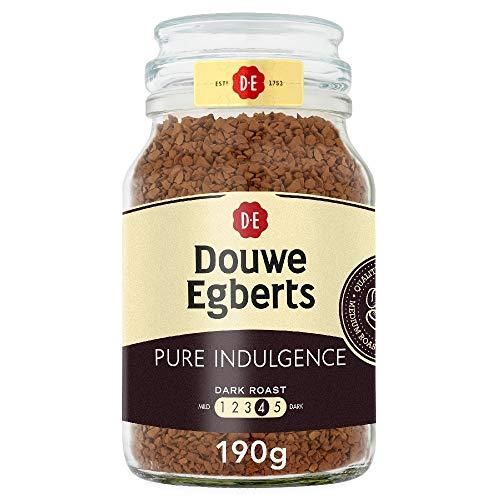 Douwe Egberts Pure Indulgence Instant Coffee 190g (Total of 6 Jars)