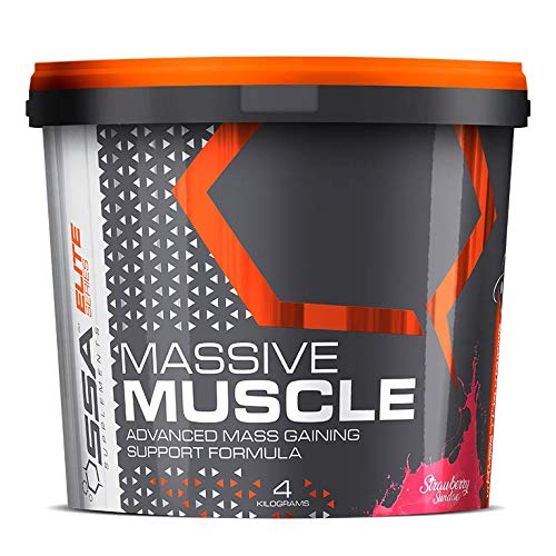 SSA Supplements Massive Muscle 4KG Strawberry